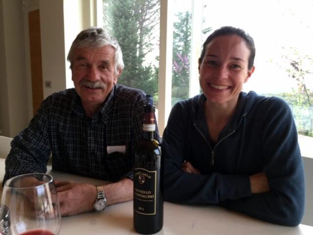 """Russell dagli Stati Uniti, Maggio 2016: """"Ora tengo sempre i vini di SanCarlo nella mia cantina. Spero di tornarci presto con la mia famiglia"""""""