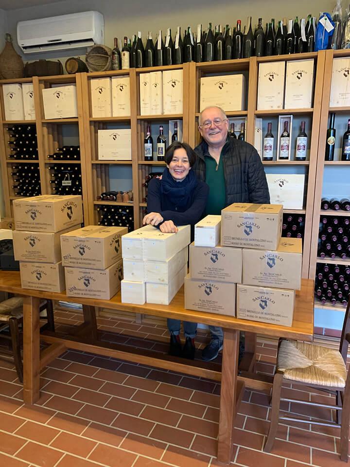 Walter e Suzanne dagli Stati Uniti, Gennaio 2020